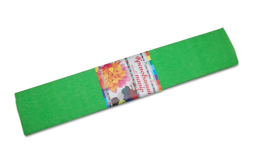 Бумага гофрированная №6.1, салатовая  50*200 см (Мицар)