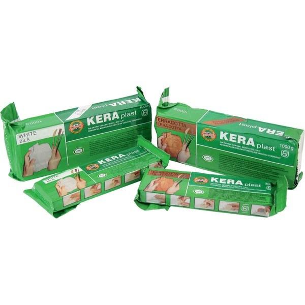 Пластилин Keraрlast 1000 г белый