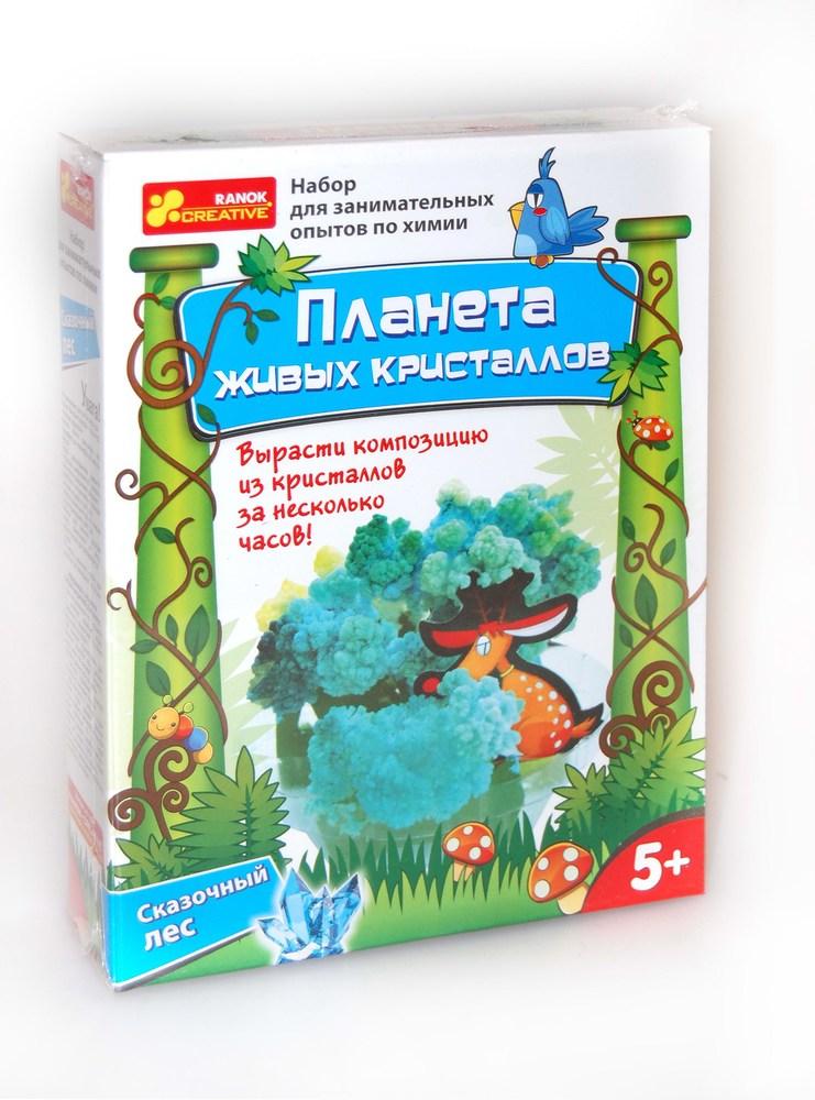 Планета живых кристаллов  Сказочный лес