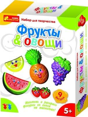 Гипс на магнитах «Фрукты. Овощи» 15100096Р