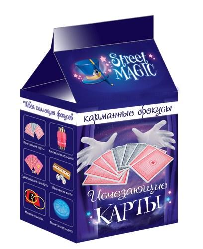 Научная игра Исчезающие карты 6033-01