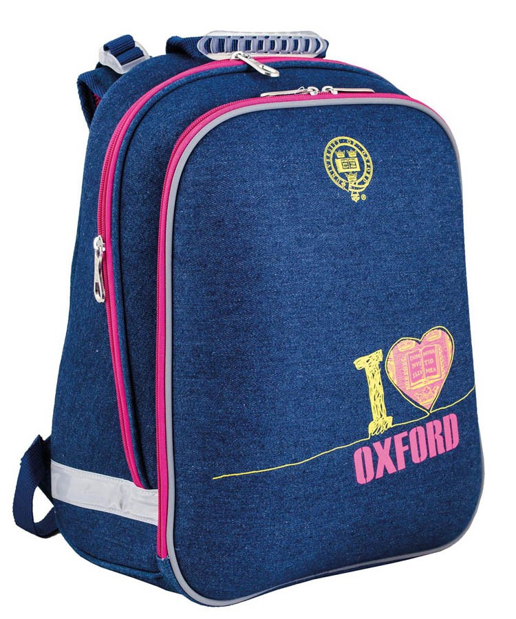 Рюкзак каркасный  H-12 I love Oxford, 38*29*15