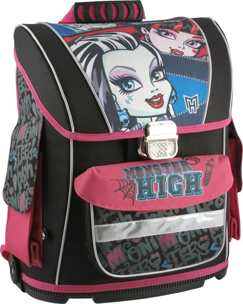Рюкзак школьный каркасный Monster High 530