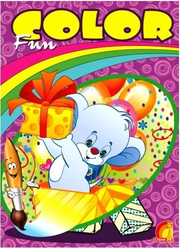 """""""Книга детская  """"""""Детское творчество.Fun color . Мышонок"""""""" укр."""""""