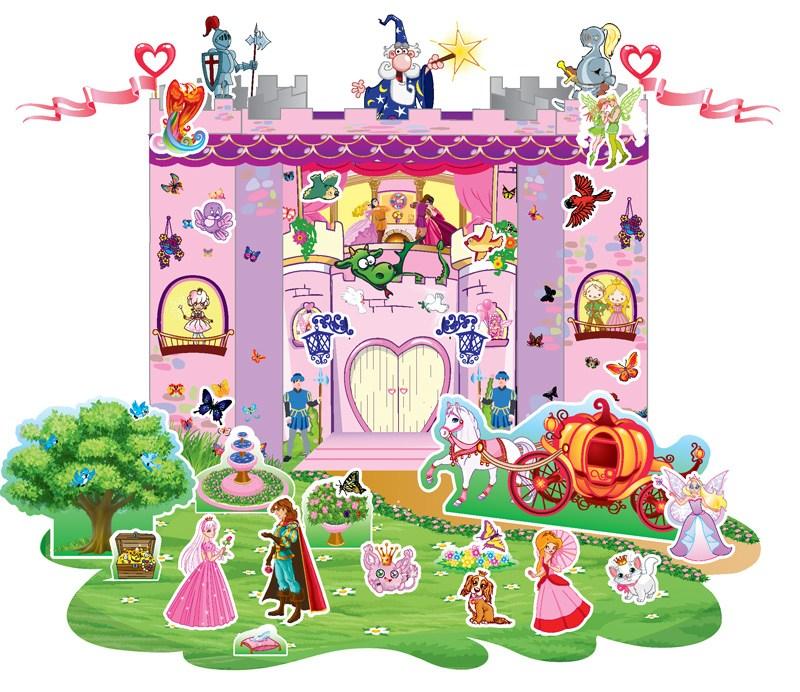 Книга детская  Творческий ребенок. Чудо-конструктор. Замок принцесc (рус/укр)