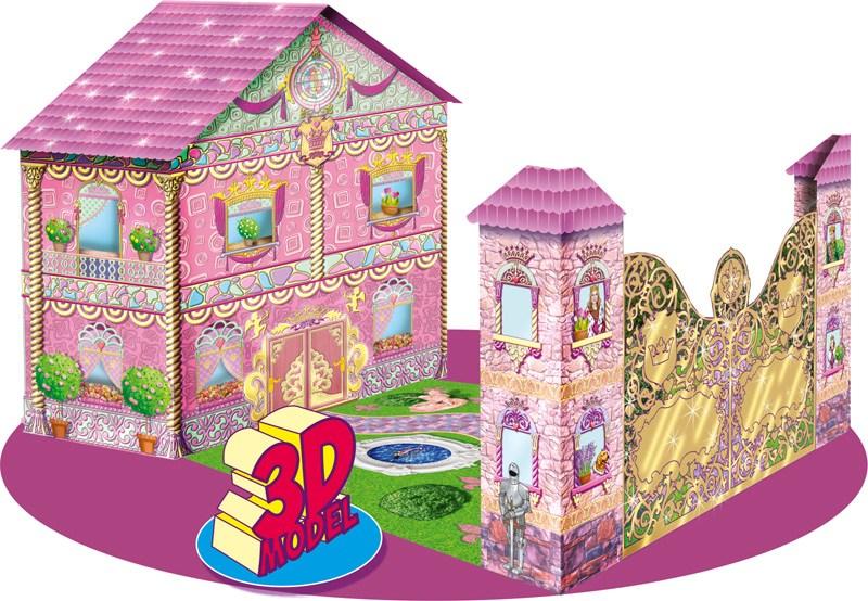Книга детская Книжка-игрушка. Дворец маленькой принцессы (русск.)