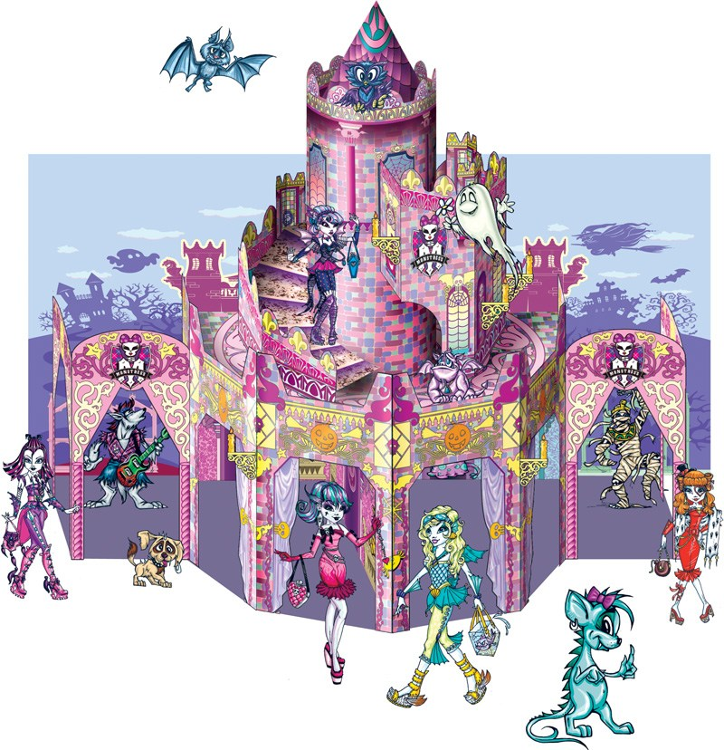 Книга детская Книжка-игрушка.MAGIC LAND Замок Монстресс (укр.)