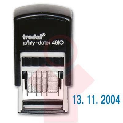 Датер 3,8 мм пластмас.  - банк (цифровое выражение)