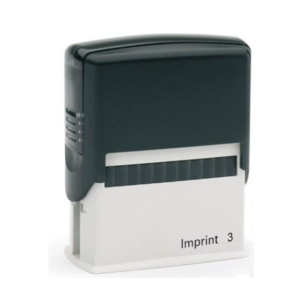 Штамп с бух.термином, пласт., пустое поле 57*21 мм, черный Imprint