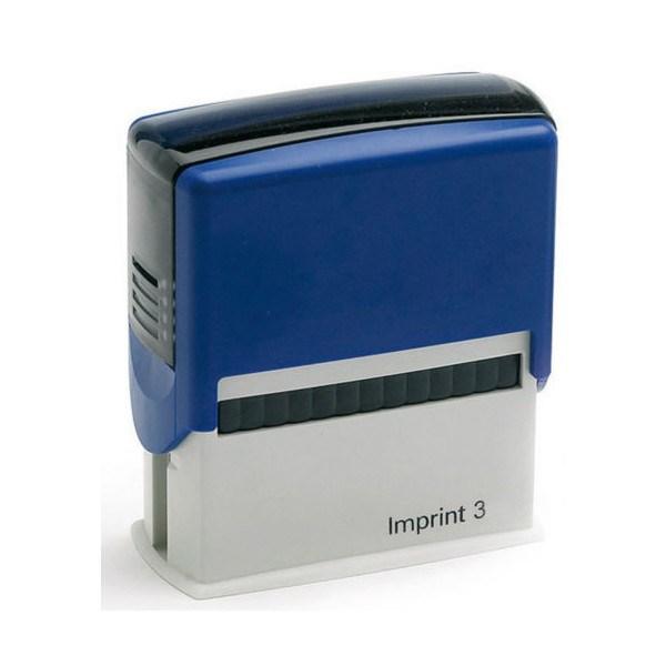 Оснастка для штампа  57*21 мм, синий Imprint