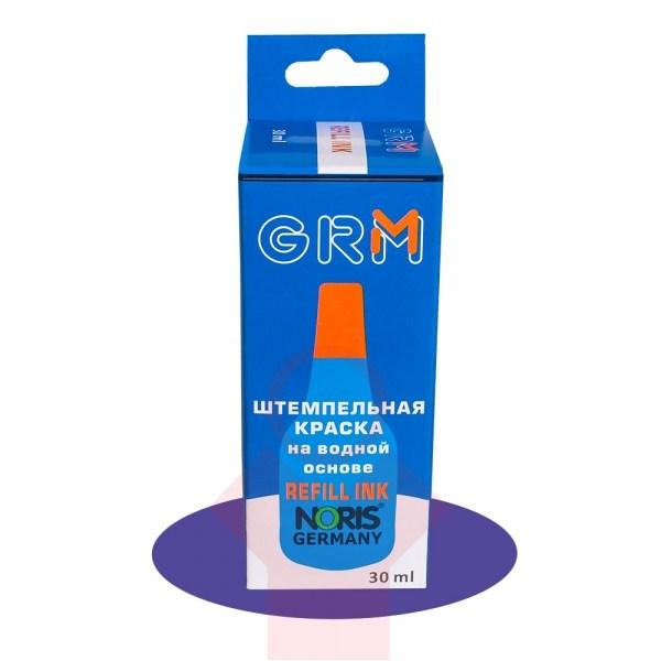 Штемпельная краска GRM NORIS 30 мл, черная