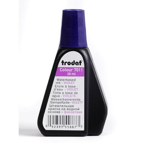 Штемпельная краска 28 мл Trodat фиолетовая