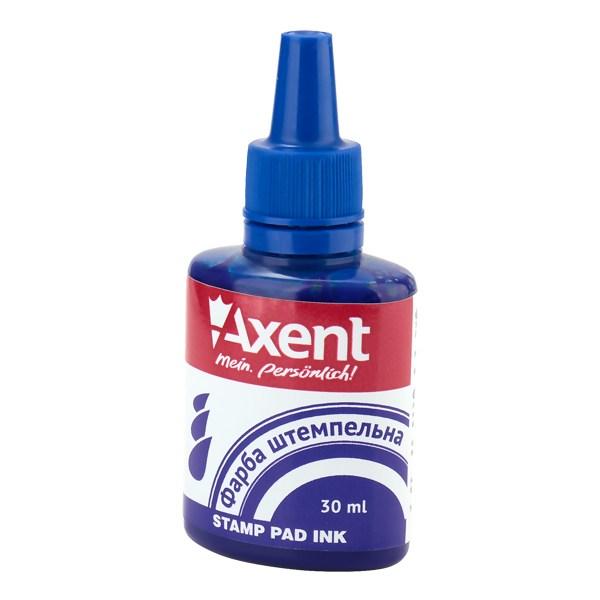 Штемпельная краска Axent 30 мл., синяя