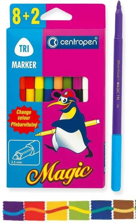 Фломастеры Magic Trio 8+2