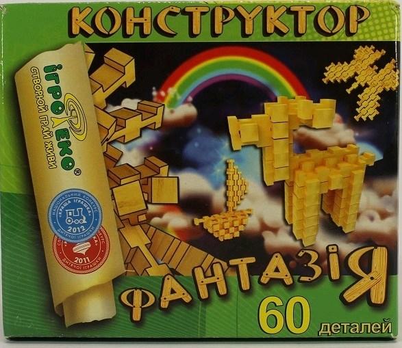 Конструктор Фантазия 60 дет.