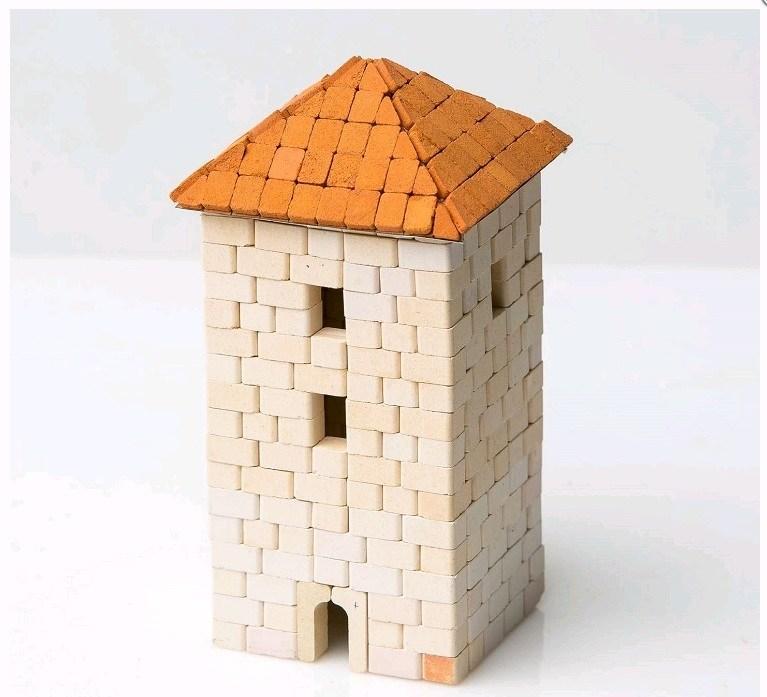 Мини-конструктор из керамических кирпичиков Башня, серия Старый город