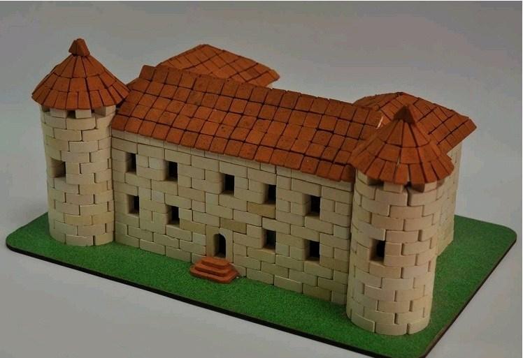 Игрушка-конструктор из керамических кирпичиков Чинадиево, серия Страна замков и крепостей