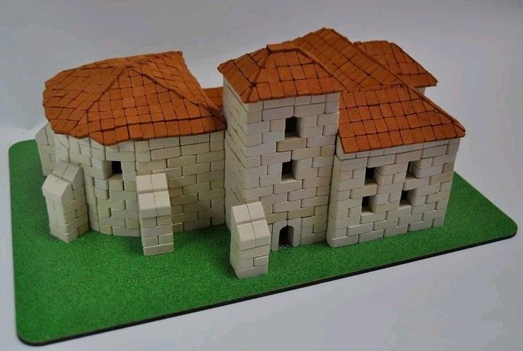 Игрушка-конструктор из керамических кирпичиков Олесько серия Страна замков и крепостей арт.07004