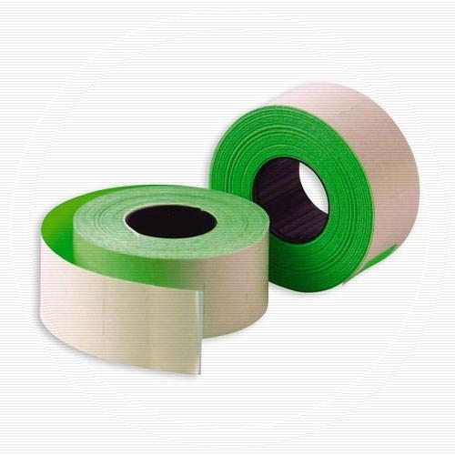Этикет-лента прямоугольная 26*16 зеленая