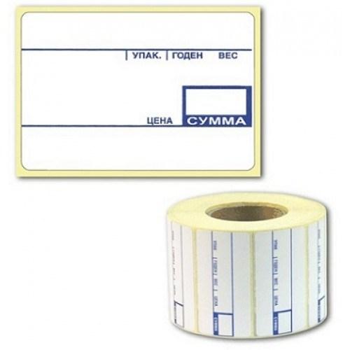 Термоэтикетка с печатью ECO   58*40 (600)Флекс.