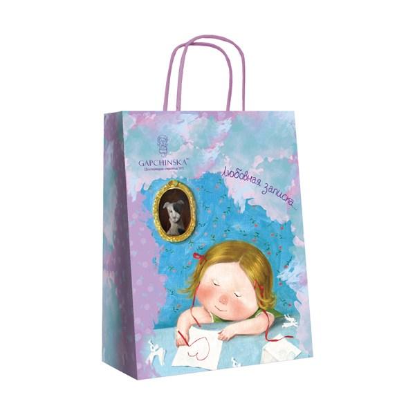 Пакет бумажный подарочный  Gapchinska, 18х24см