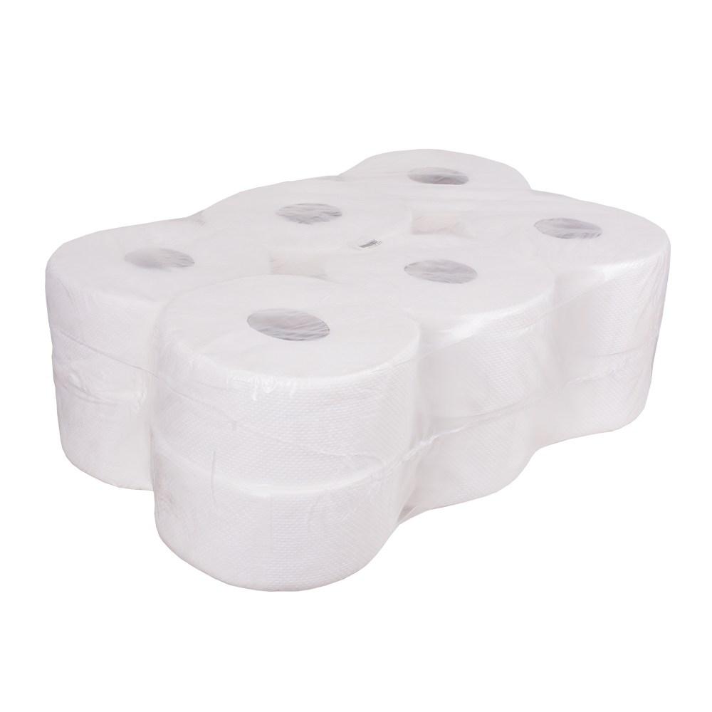 Туалетная бумага  PRO Standart (уп=12 рул), 1-cлойн.,160 м,1280л