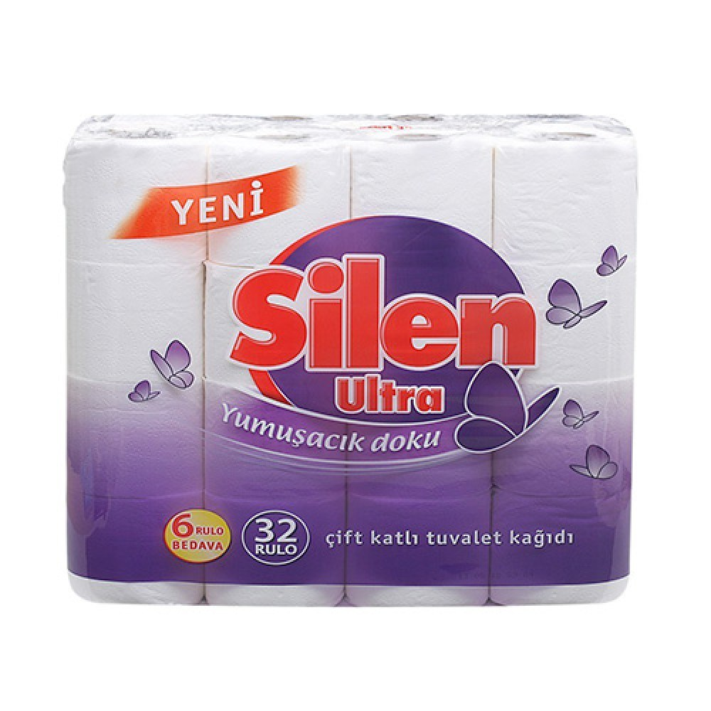 Туалетная бумага Silen 2-СЛОЙНАЯ/32рул/20м