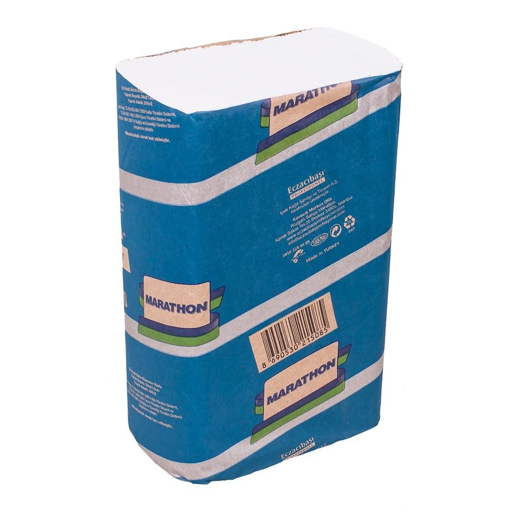 Полотенце бумажное Marathon EXTRA ZZ 2-х слойное, 200 листов