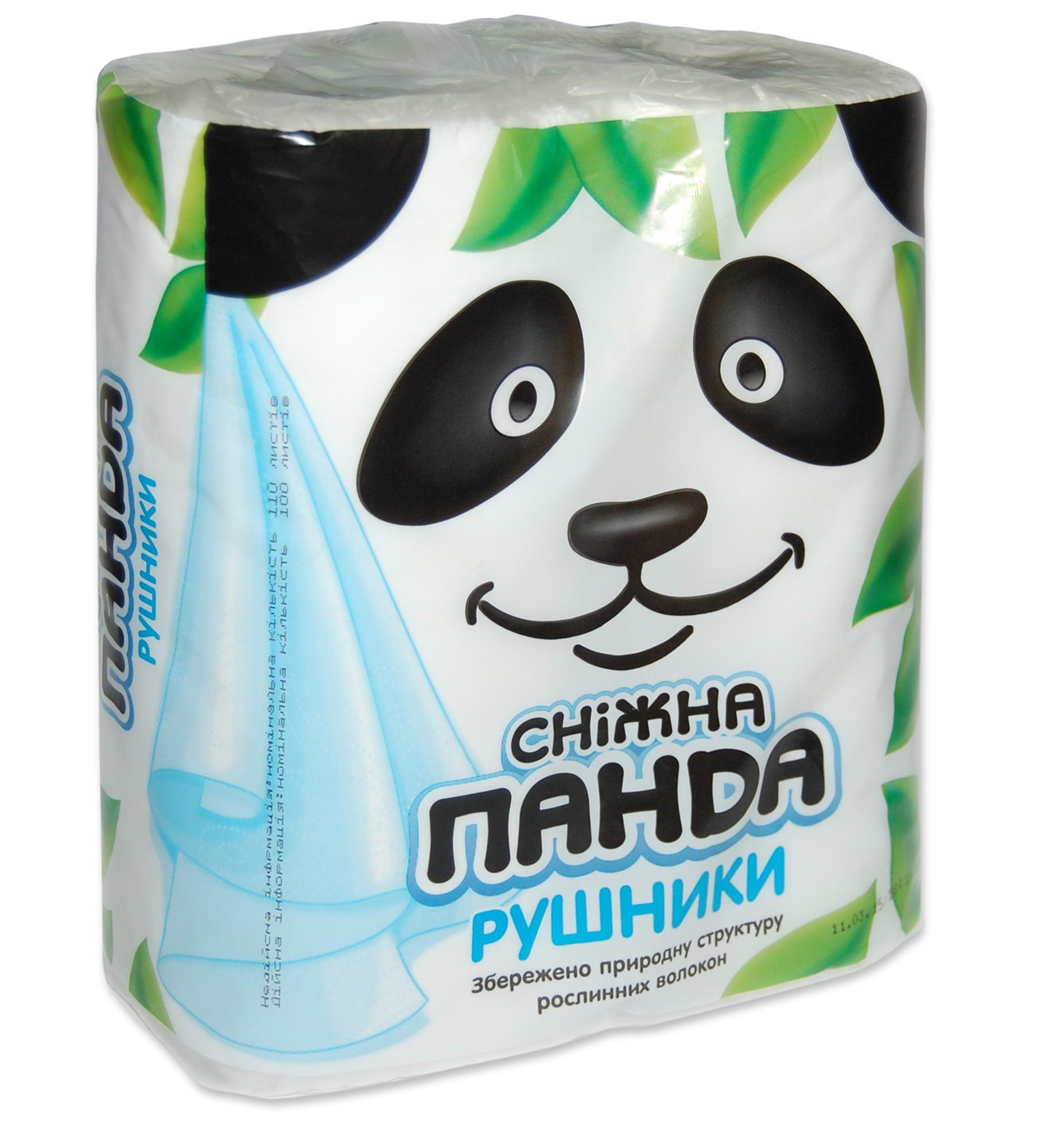 Полотенца бумажные Снежная панда,(1уп=2шт)