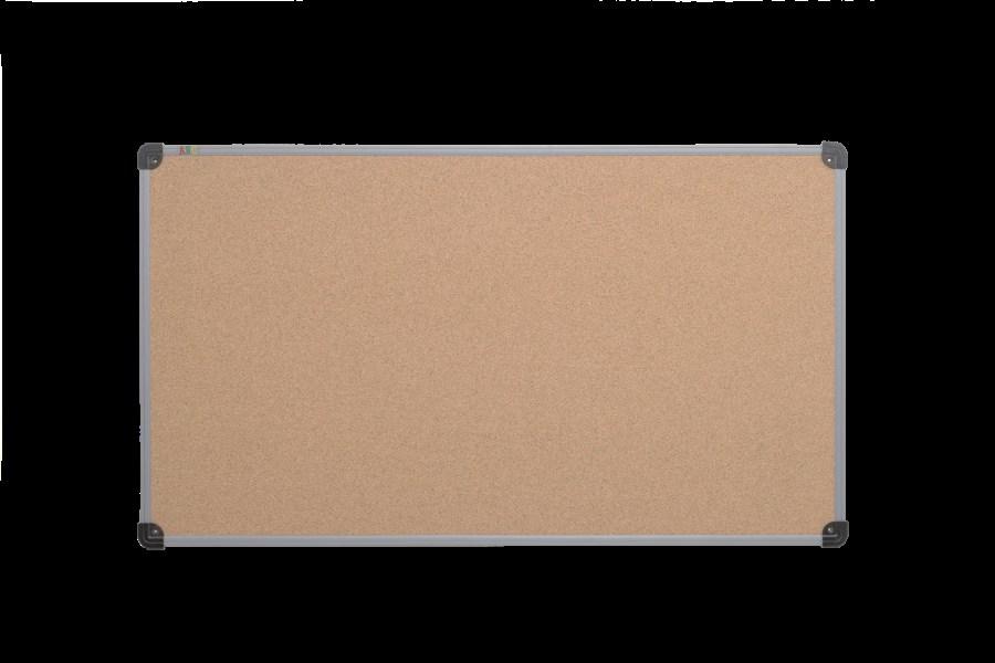 Доска пробковая, 65*100, пластиковая рамка