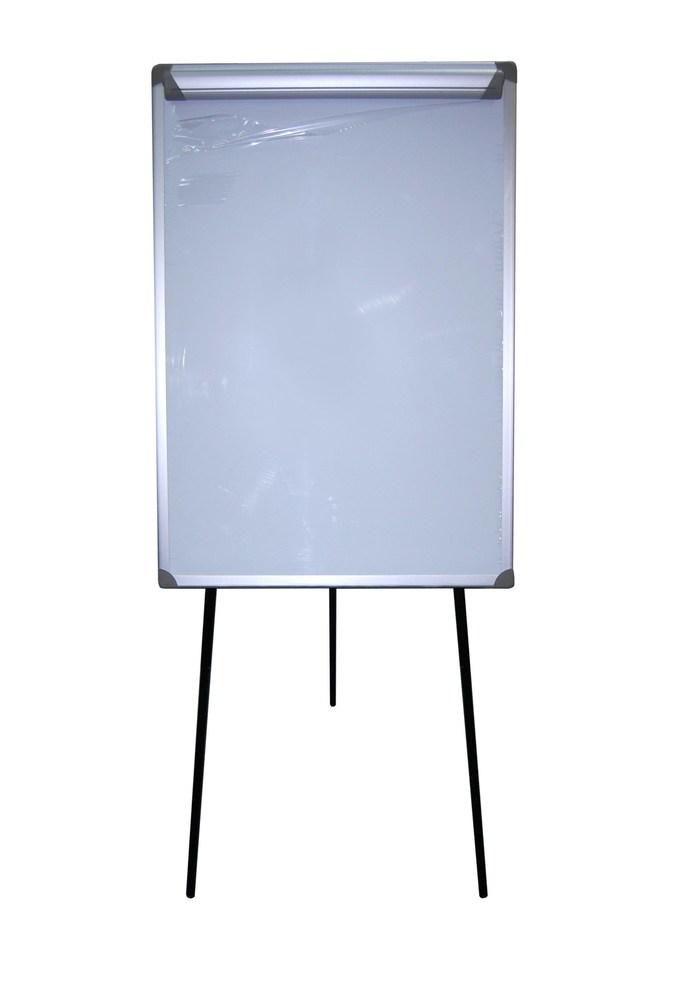 Флипчарт магнитно-маркерный, размер 70х100см, с прижимом