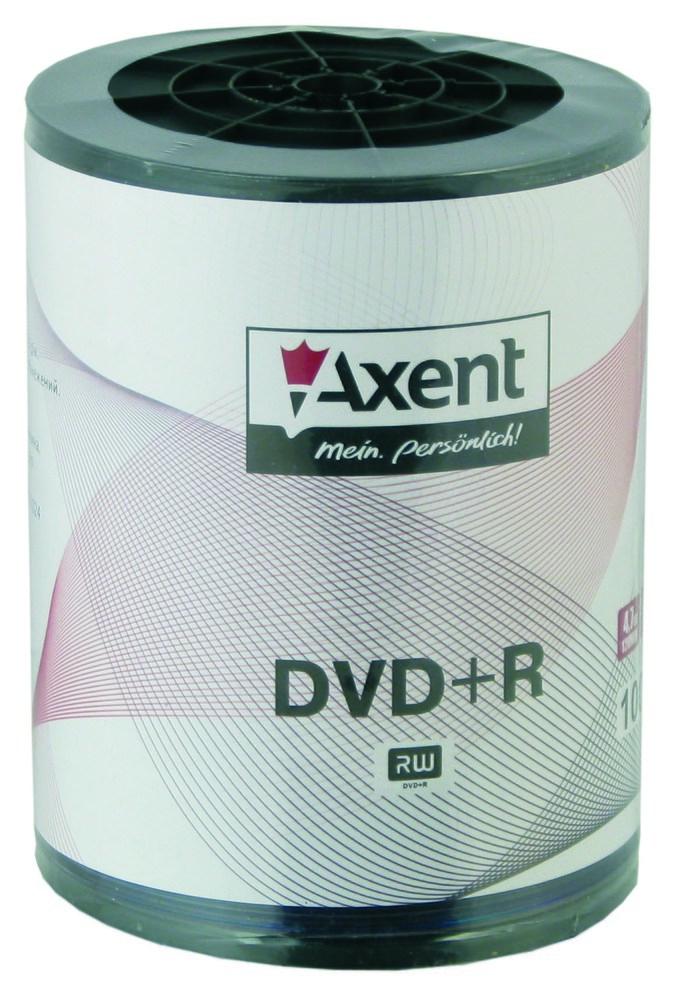 Компакт-диск DVD+R 4,7GB/120min 16X, 100 шт, bulk