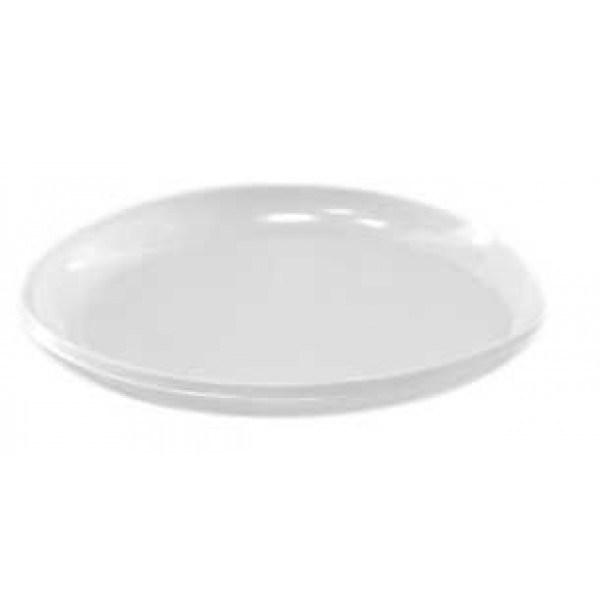 Тарелка пластмассовая 165 десерт. (уп=100шт)
