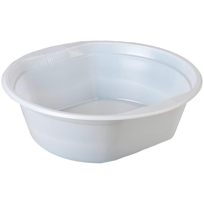 Тарелка пластмассовая глубокая (уп=100шт)