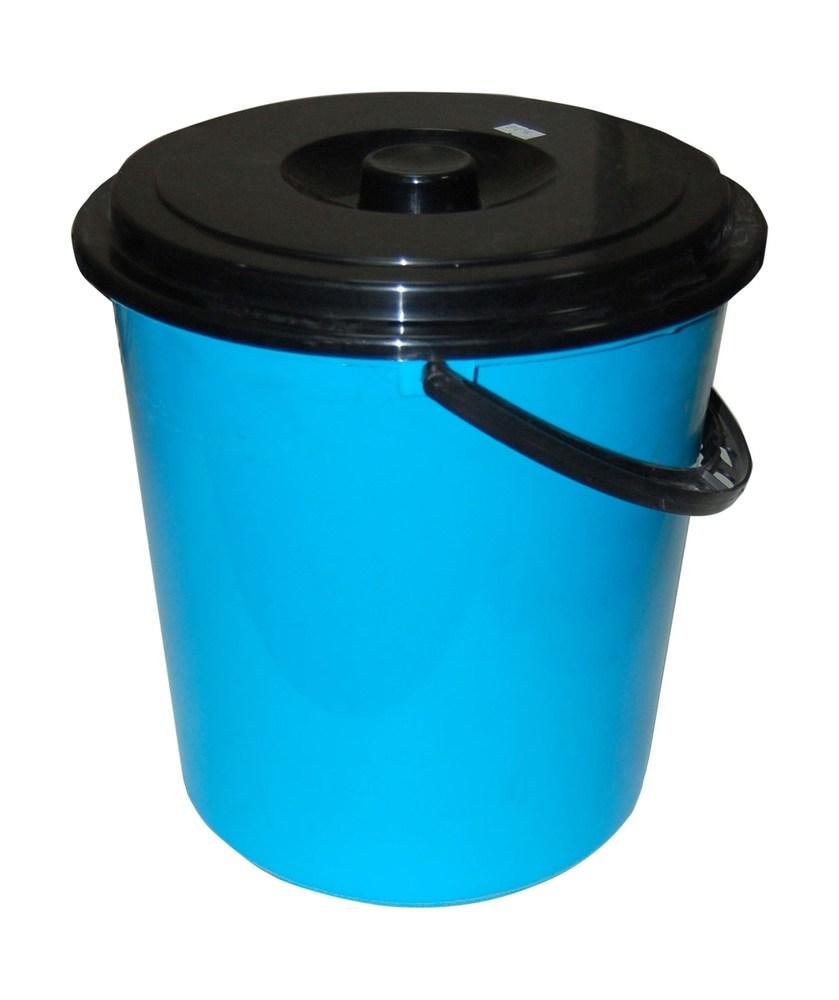 Ведро пластиковое 10 л круглое,с крышкой