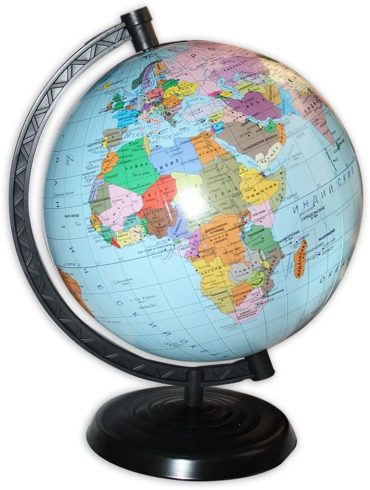 Глобус Политический 22см